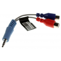 Redukce JACK 3,5 mm - 2x CINCH stereo audio SAMSUNG